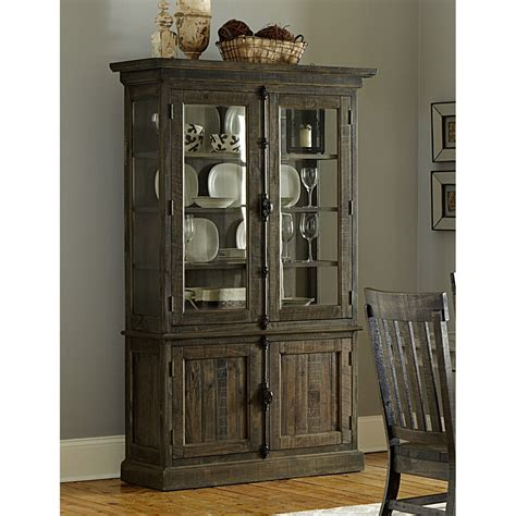 magnussen home bellamy wood china cabinet the simple stores