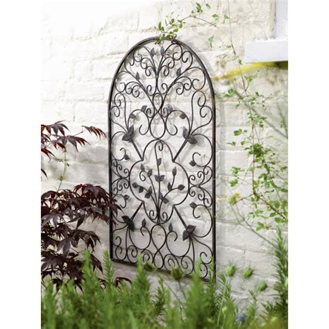 metal arch wall sculpture by garden selections
