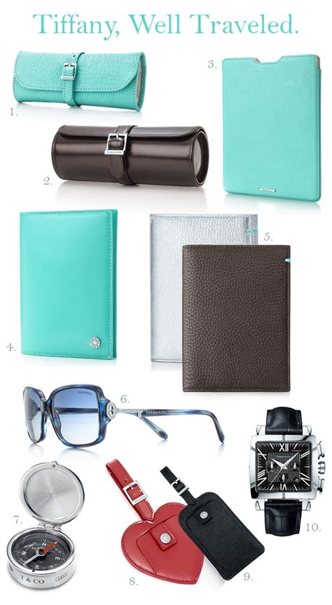 travel accessories tiffany co travel products