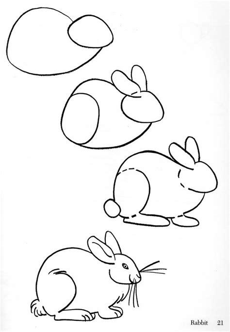 rabbit drawing clipart best
