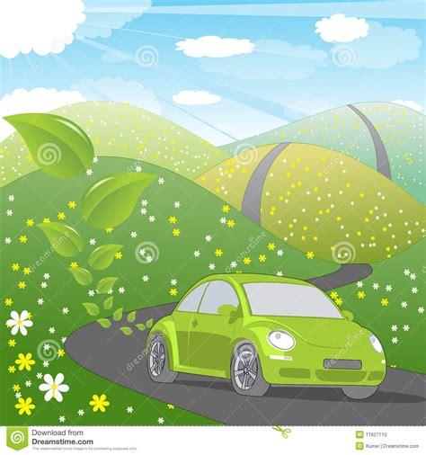 ecology friendly car stock photo image 11627110