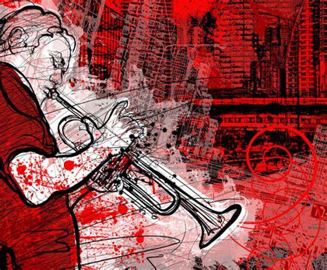 graffiti wallpaper vector graffiti music backgrounds vector set free vector in