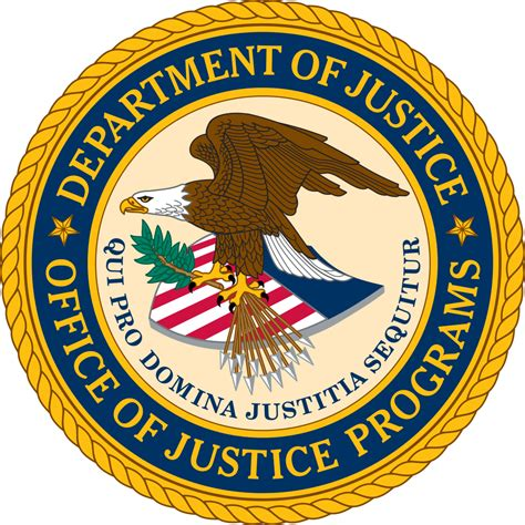 Us Department Of Justice Search File Us Officeofjusticeprograms Seal Svg Wikimedia Commons