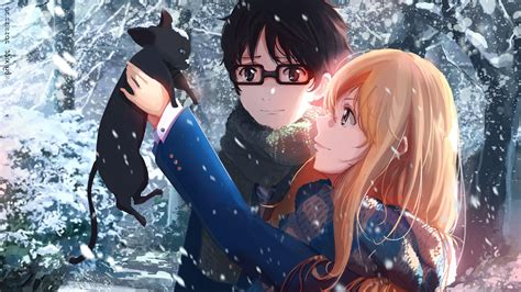 wallpaper hd anime shigatsu wa kimi no uso shigatsu wa kimi no uso wallpapers wallpaper cave