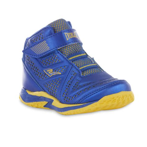 everlast basketball shoes everlast 174 toddler boys cayenne blue yellow high top