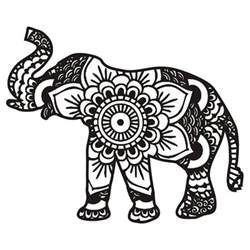 elephant mandala coloring pages for adults best 25 mandala elephant ideas on mandala
