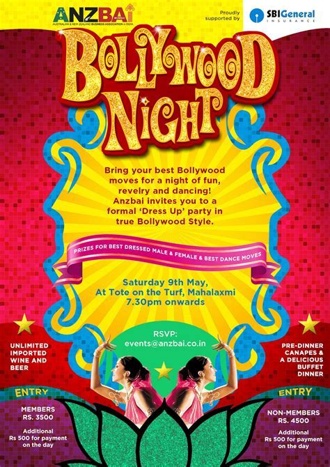 Magnificent Bollywood Party Invite Photos   Invitation