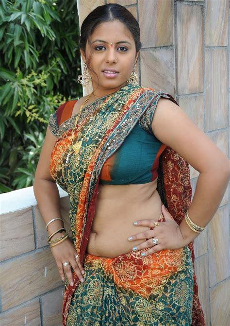 telugu actress hot photos in saree navel hot telugu actress sunakshi sexy navel show photos in