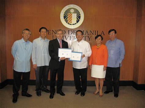 Ateneo De Manila Mba by Ateneo And Le Cordon Bleu Launch New Institute Ateneo De