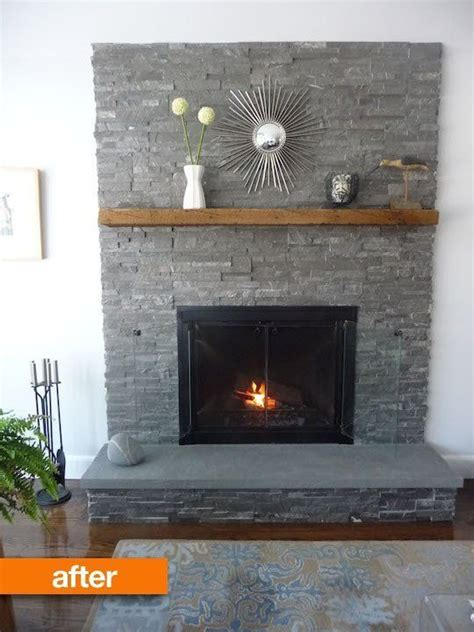 before after patience s tale fireplace makeover