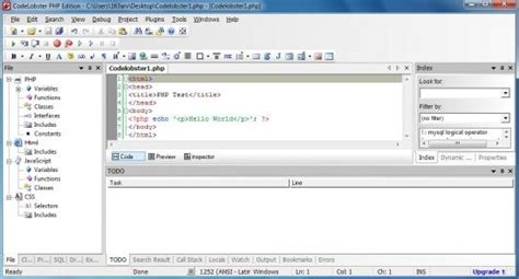 php ide 11 best php 4 free php ide for windows