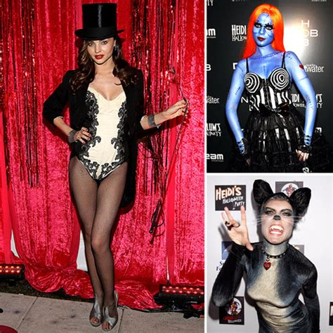 miranda kerr heidi klum lauren conrad and more celebs show off their halloween costumes