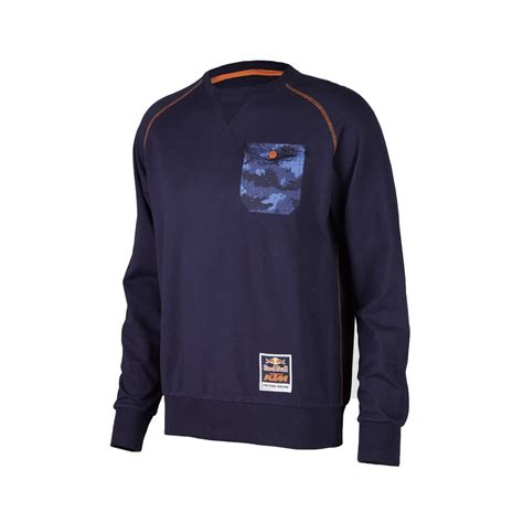 Sweater Ktm Ktm Bull Team Crew Sweatshirt Dirtnroad