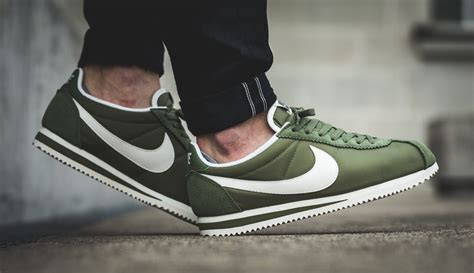 Nike Cortez Clasic palm green covers the classic nike cortez kicksonfire
