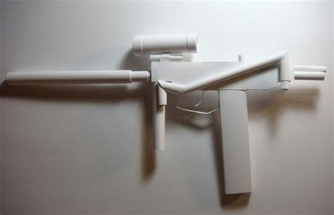 How To Make A Pistol Out Of Paper - boy gun freaks 250 meticulously crafted paper