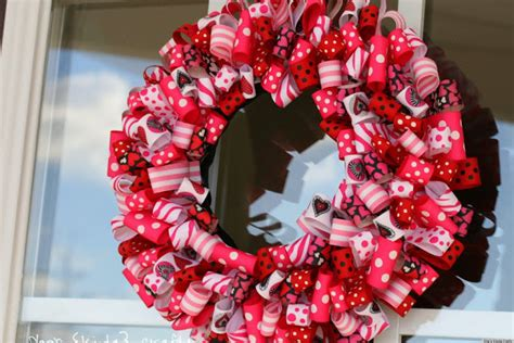 s day ideas charming ribbon wreaths to adorn