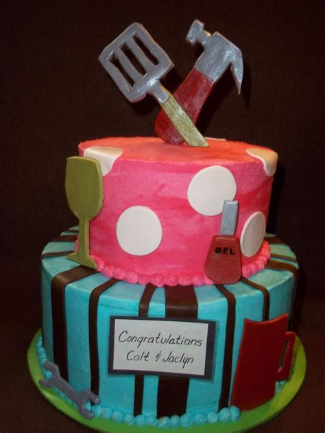 couples wedding shower cake ideas knit by god s august 2014