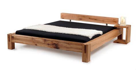 doppelbett ohne kopfteil bermuda doppelbett massivholzbett sumpfeiche 140 x 200 cm