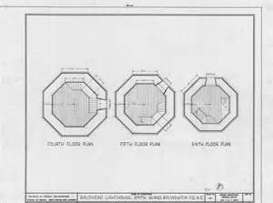 lighthouse floor plans fourth fifth and sixth floor plans bald head lighthouse brunswick county north carolina