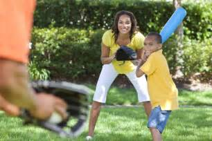 Playing outside with kids eat smart be fit maryland