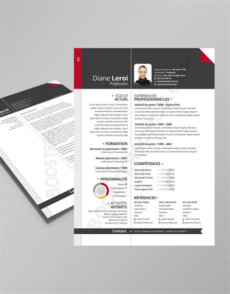 Design Lettre De Motivation Cv Lettre De Motivation Assortie Boostersoncv