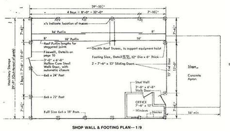 machine shed house floor plans 30 215 72 pole machine shed plans blueprints for industrial building
