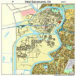 west sacramento california map 0684816