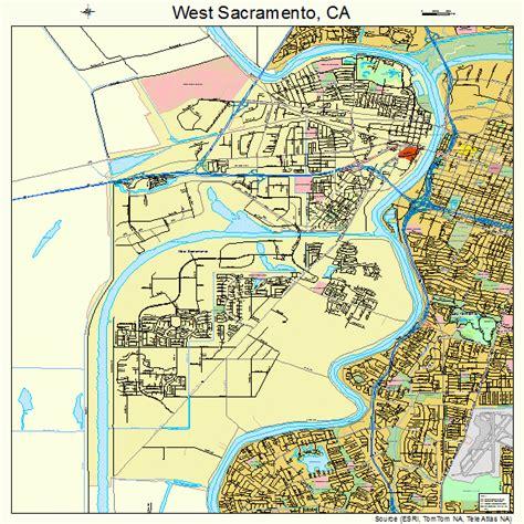 sacramento california map west sacramento california map 0684816