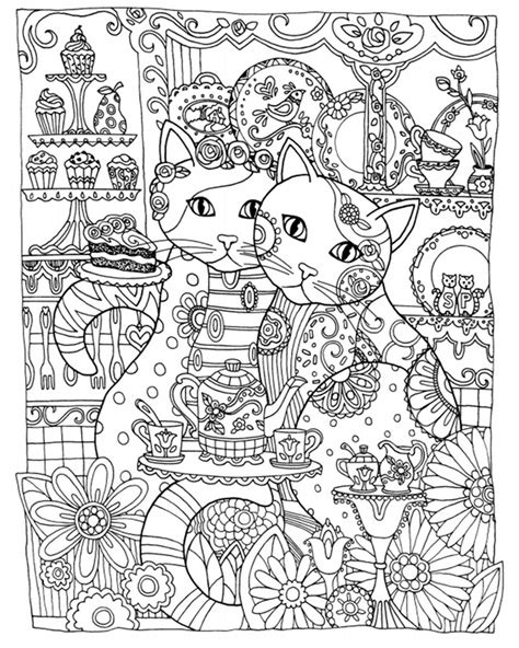 coloring book for adults anti stress antistress anxiety cats colouring book for adults