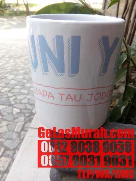 Mug Custom Souvenir Ultah Pernikahan Mug Printing Custom Gambar gelas dari tanah liat jakarta 0812 9038 9038 wa 0812