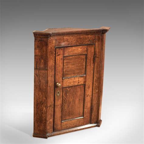 oak corner cabinets for sale 18th century georgian oak corner cabinet c 1750