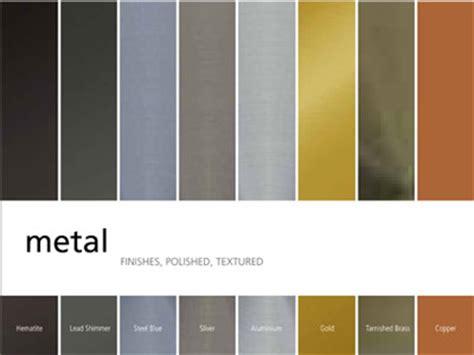metallic colors february 2013 linetec