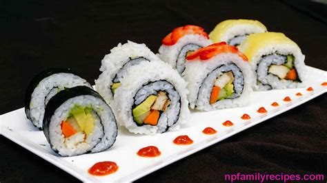 Sushi Roller Roll Sushi Sushi Roll vegan avocado tofu sushi rolls recipe sushi chay npfamily recipes
