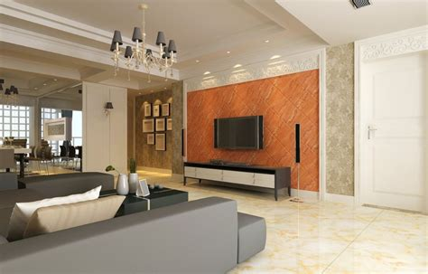 orange wall living room interior designer in mumbai interior designer in mumbai india