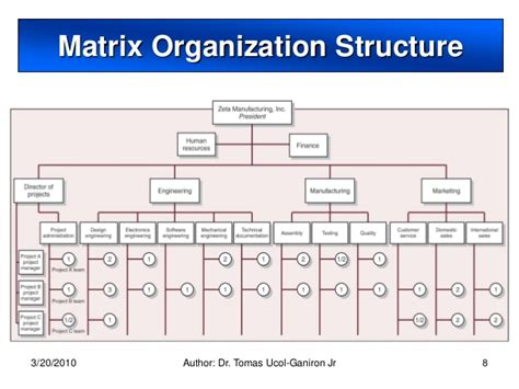 exle of a design structure matrix project organization and structure