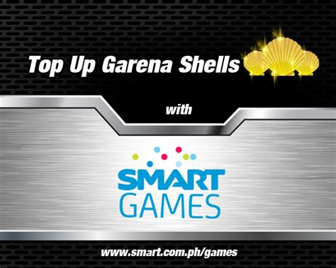 Garena 50 Shell convert smart load to garena shells