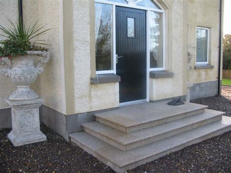door steps req half circle front door step bricklaying job warrington