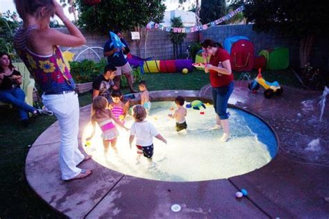 best 25 backyard splash pad ideas on