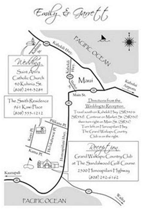 map wedding invitation insert quot special events quot by 174 the best item to insert in the