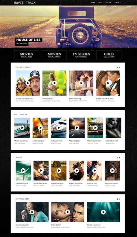 theme blog movie 20 best awesome video movie themes for wordpress 2017