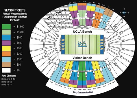 ucla announces big changes to bowl seating for 2016