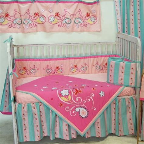 butterfly baby bedding sleeping partners butterfly paisley crib bedding