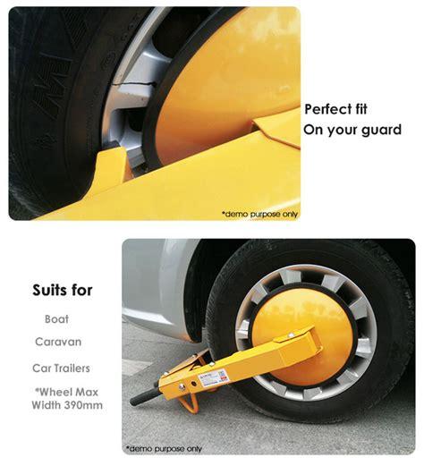 Promo Olfa Cutter Hyper H Type Auto Lock 212b heavy duty car vehicle wheel cl lock for cars trailers