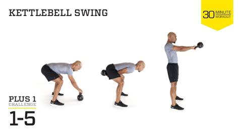 kettlebell swing reps trx power core workout