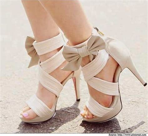 pretty high heel shoes pictures go babelicious in bow high heels sandals pumps shoes