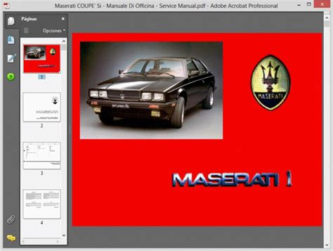 car repair manuals download 1989 maserati spyder transmission control maserati coupe si manuale di officina service manual