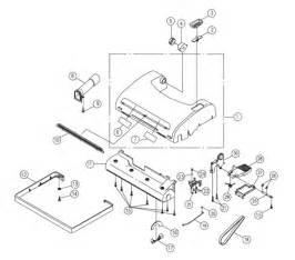 riccar 8900 parts vacuum repair diagrams