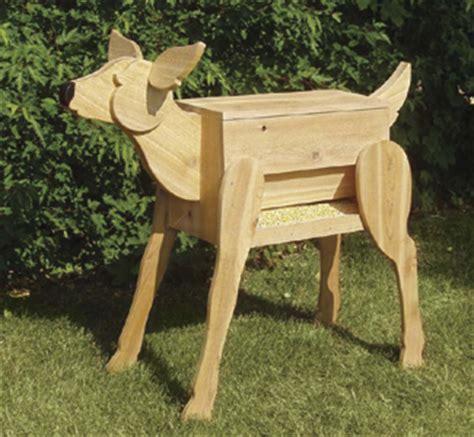 structure woodworking plans deer feeder wood plan