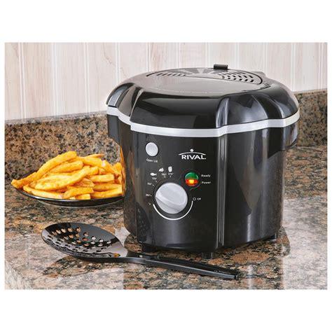 rival kitchen appliances rival 174 cool touch deep fryer 283197 kitchen appliances