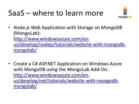 node js mongodb tutorial pdf the three aas s of mongodb in windows azure